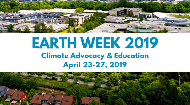 Earth Week 2019: Climate Advocacy & Education