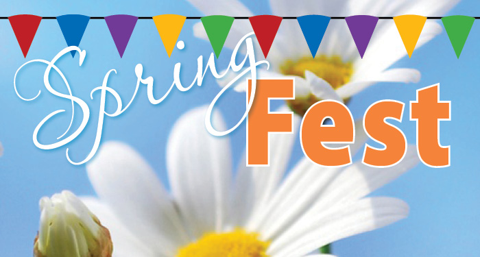 Spring Fest 2019, May 28-30!