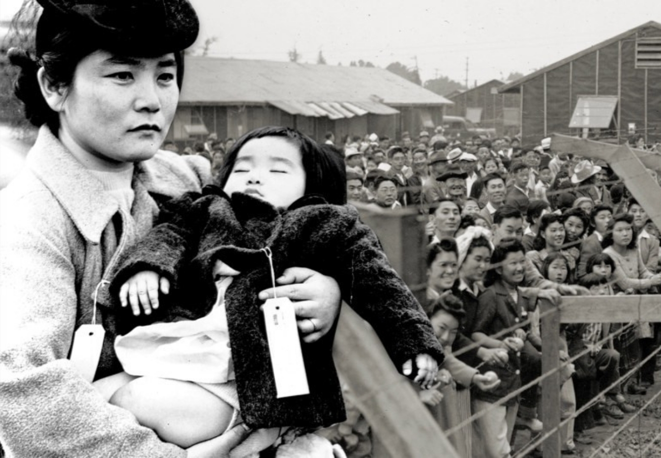 Mother and child internment camp